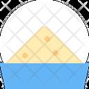 Dish Sugar Salt Icon
