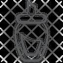 Sugar Pot Sugar Jar Airtight Jar Icon