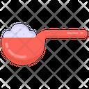 Kitchen Equipment Sugar Spoon Utensil Icon