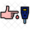 Sugar Blood Test Icon