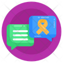 Discussion Messaging Suicide Prevention Chat Icon