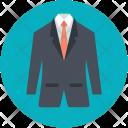 Suit Blazer Professional Icon