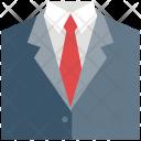 Suit Tie Tuxedo Icon