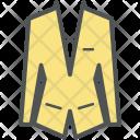 Suit Coat Blazer Icon