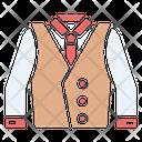 Suit Vest Safety Icon