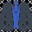 Clothes Blazer Suit Icon
