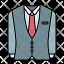 Suit Groom Wedding Icon