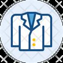Suit Tweed Jacket Man Icon