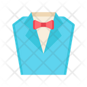 Suit Dating Dress Male Dress Icon