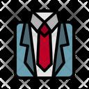 Suit Businessman Tie Icon