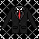 Suit Cloth Tshirt Icon