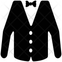 Suit And Bow Icon