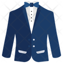 Suit and tie outfit Icon