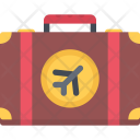 Suitcase Air Travel Icon