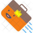 Suitcase Office Bag Icon