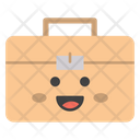 Suitcase Briefcase Trunk Icon