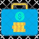 Suitcase Briefcase Money Bag Icon