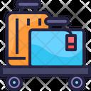 Suitcase Bellhop Luggage Icon