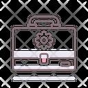 Project Portfolio Bag Icon