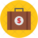 Suitcase Briefcase Cash Icon