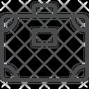 Briefcase Handbag Office Bag Icon
