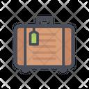Suitcase Travelling Bag Luggage Icon