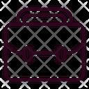 Suitcase Briefcase Bag Icon