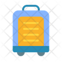 Suitcase Baggage Travel Icon