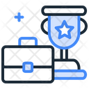 Suitcase And Trophy Icon