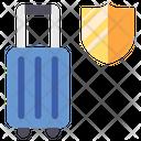 Suitcase Insurance Icon