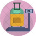 Suitcase Scale Icon