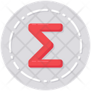 Sum Sigma Mathematics Icon