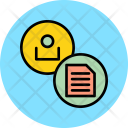 Summary User Employee Icon