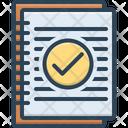Summary Resume Application Icon