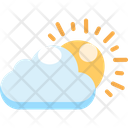 Summer Sun Sunset Icon