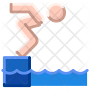 Summer Water Pool Icon
