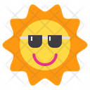 Summer Sun Sunlight Icon