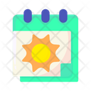 Summer Background Nature Icon