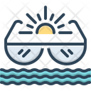 Summer Summer Time Vacation Icon