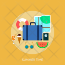 Summer Time Holiday Icon