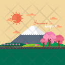 Summer Japan Background Icon