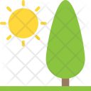 Larch Garden Tree Icon