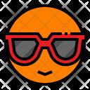 Summer Sun Sunglasses Icon