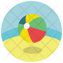 Summer Beach Ball Icon