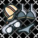 Summer Accessories Cap Icon
