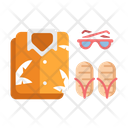 Summer Outfit Glasses Icon
