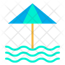 Seaside Sea Beach Icon