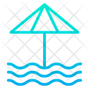 Seaside Sea Beach Icon