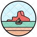 Summer Boat Icon