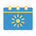 Calendar Holiday Season Icon